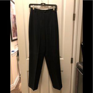 Black Jones New York Wool Pants